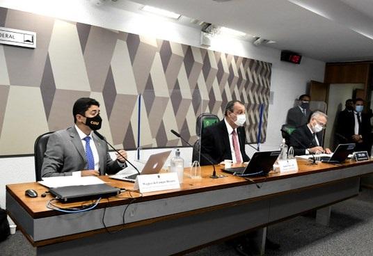 CPI da Covid ouve Wagner Rosário, ministro do CGU; acompanhe