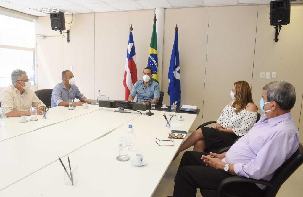 Bruno Reis se reúne com prefeitos para avançarem na retomada econômica