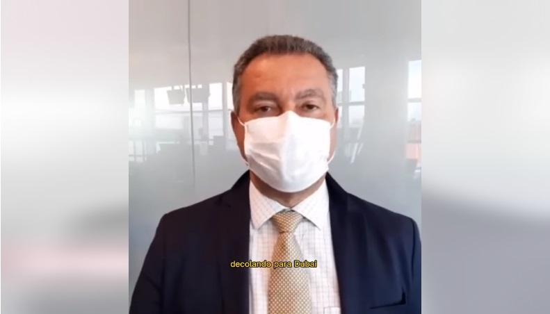 Rui encerra visita à Europa e segue para Emirados Árabes prospectando investimentos para Bahia